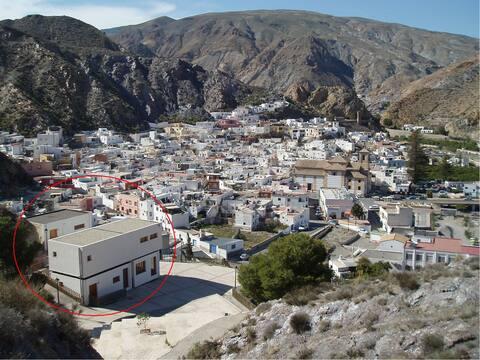 Habitación para 4 con vistas a Sierra Nevada