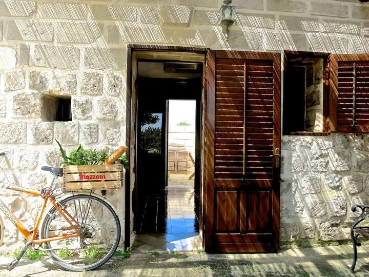 casa Patio - villa punta San Nicola-100m dal mare.