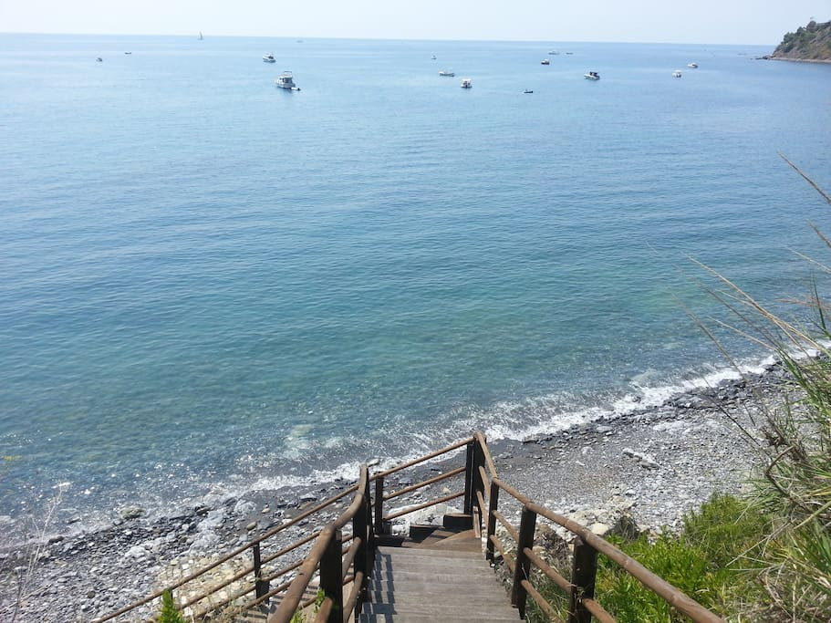 Discesa esclusiva al mare