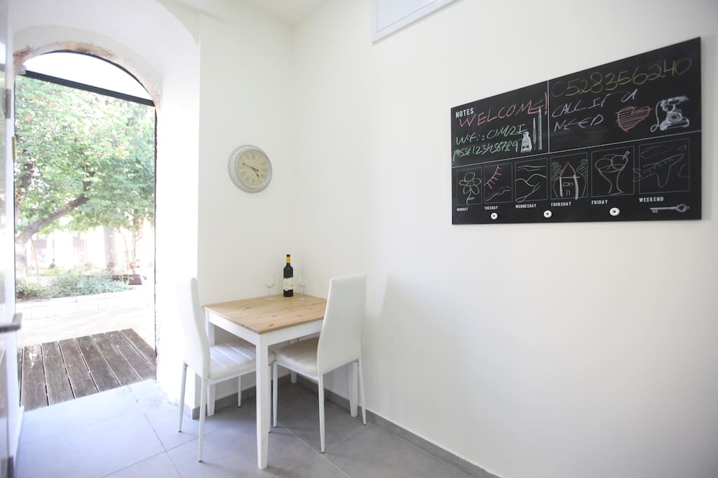 Working\Dining Area!