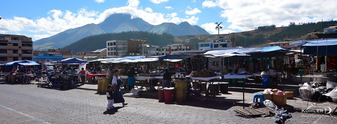 Downtown Otavalo - Relax and discover - Otavalo - Huoneisto