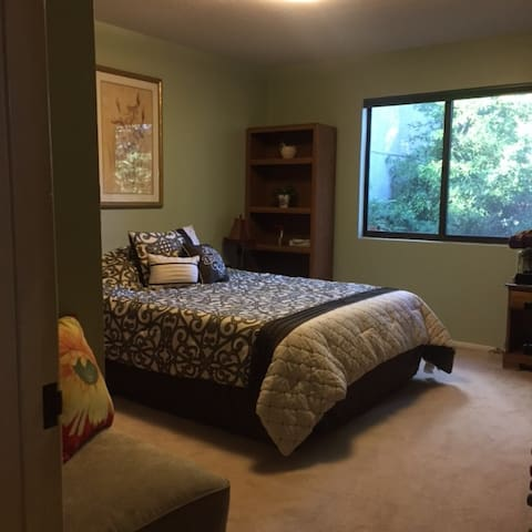 Private Section of Chateau, 2bed/1b - Portola Valley