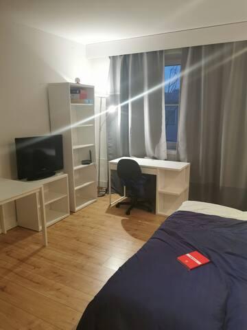 A studio apartment close to city centre in Berlin.
