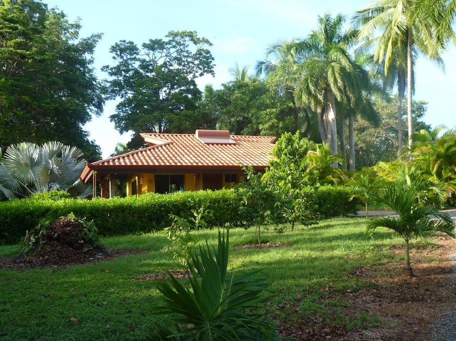 Casita with garden