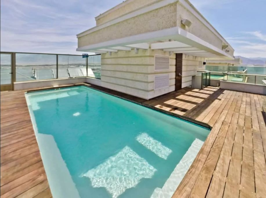 Private swimming pool at the Roof Top