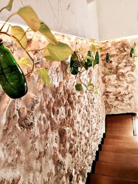 WOOD&STONE -  Habitación privada con encanto GREEN