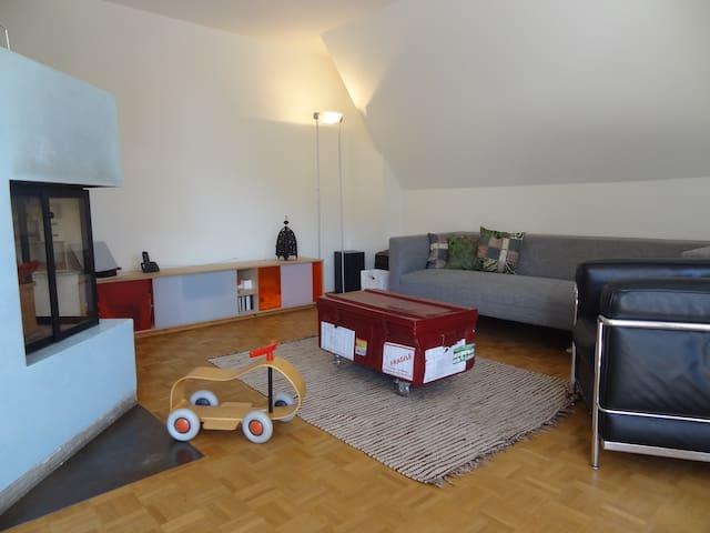 Grosszügige Familienwohnung - Biel - Apartmen