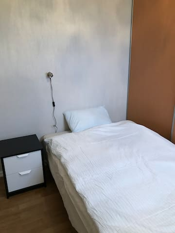 3rd Bedroom; Single bedroom with a 120 bed