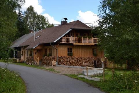 Cottage on the slope