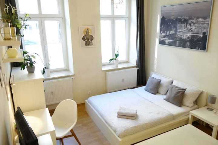 Cosy Apt. nearby station Neustadt in It-district