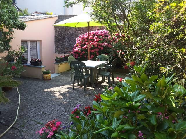 Appartement rez de jardin Concarneau