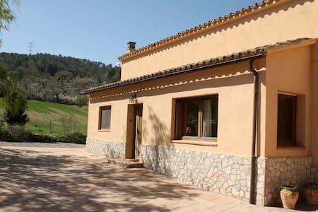 Casa l'Avenc 9pax la Llacuna Barcelona - Torrebusqueta - Dům