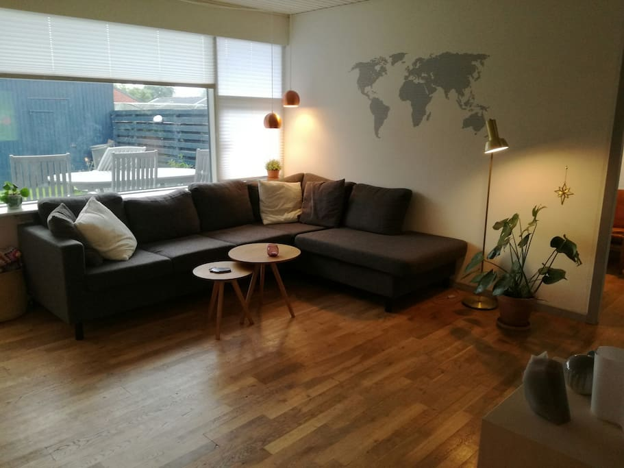 House with great access to jutland houses for rent in galten denmark - The jutland small house ...
