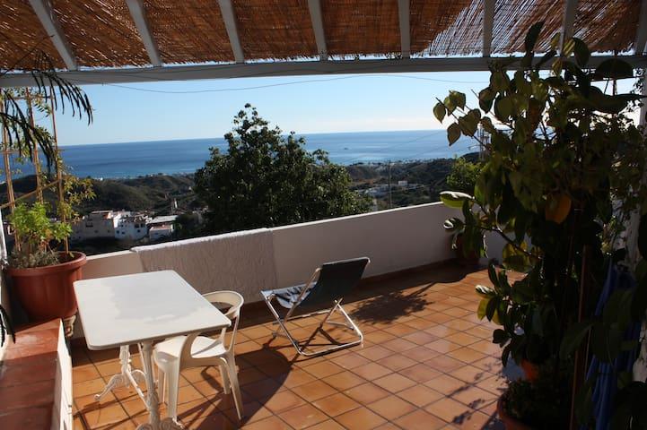 Casa con esplendidas vistas al mar - Mojácar, Almería - House