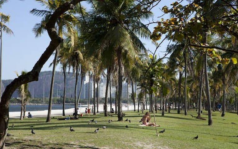 Near Beach, Overlooking the Christ Redeemer!