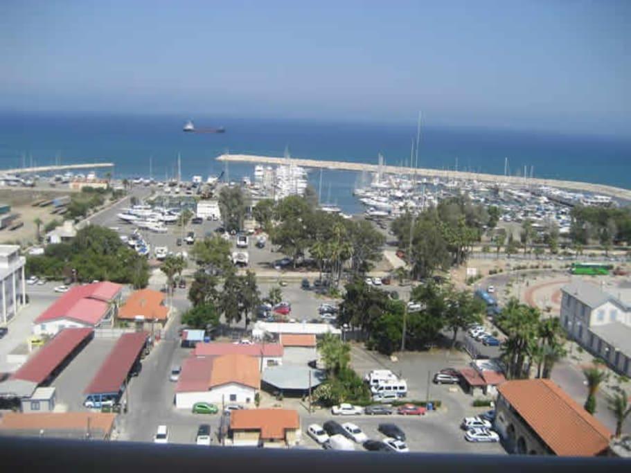 Larnaca marina sea view