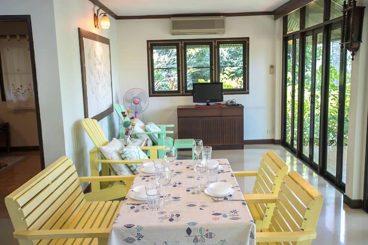 1 bedroom Riverside house in Ayutthaya-1
