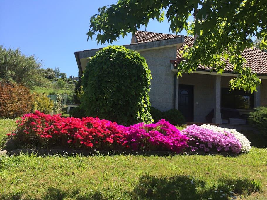 Galicia rias baixas monte y mar casas de campo en - Casas de campo en galicia ...