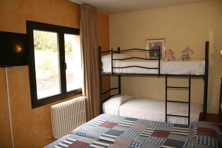 Habitación para 6 Andorra-La Cortinada/Ordino