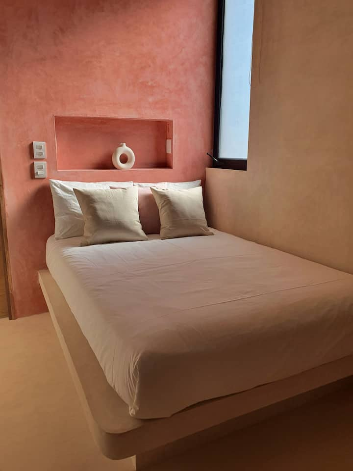 CASA PEREGRINO Habitación doble con baño privado