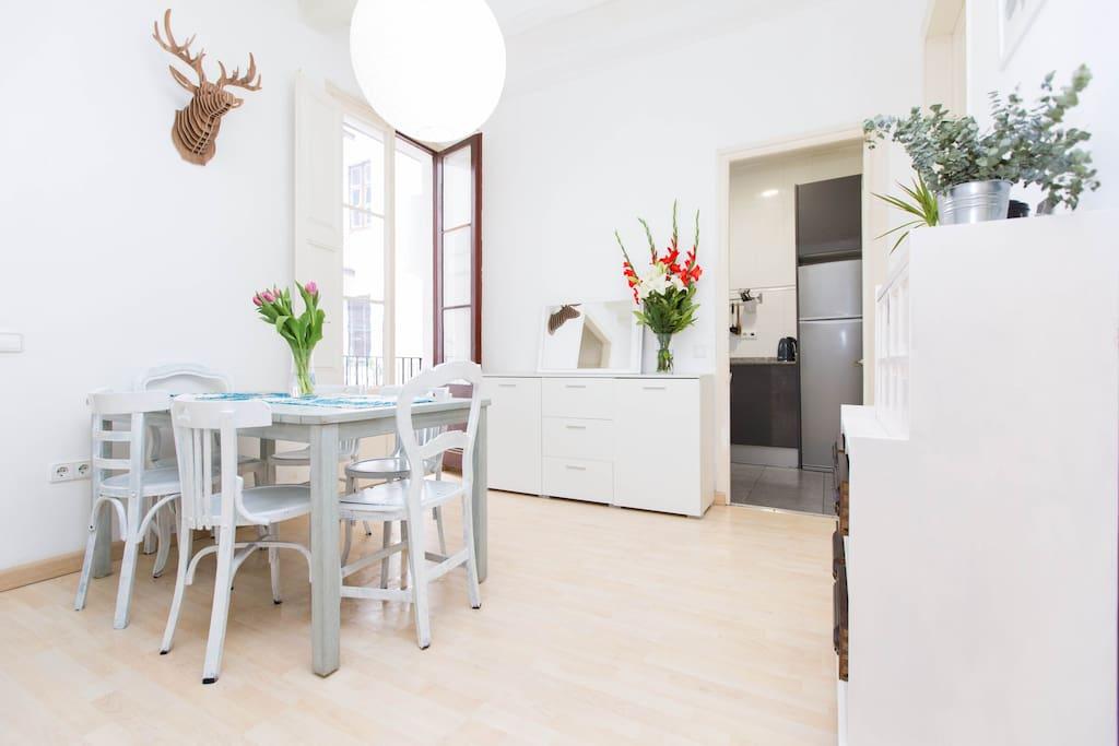 Stylish modern room in El Borne