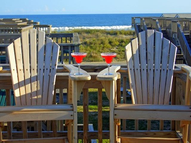 Oceanfront Cabana - Perfect for 2! - Hatteras - Cottage