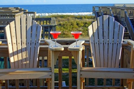 Oceanfront Cabana - Perfect for 2! - Hatteras