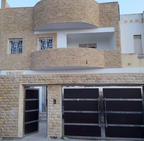 Villa wijk in temansa vlakbij de hoofdstad Rabat