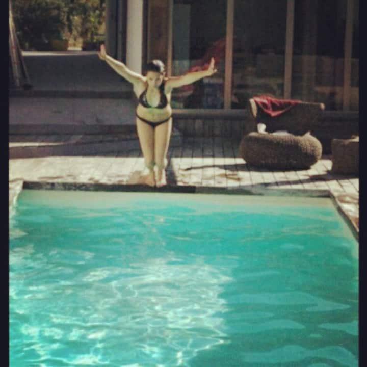 Casa con piscina a 15 min dal mare