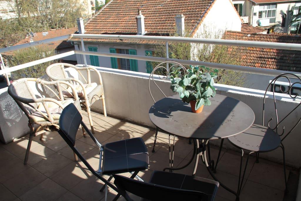 terrasse couverte sans vis à vis