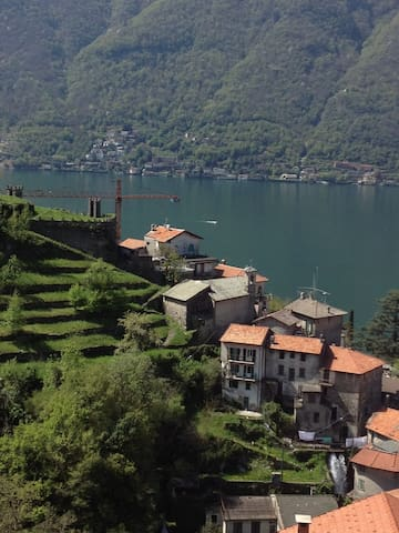 B&B Il Masso Grasso on Lake Como - Nesso - Bed & Breakfast