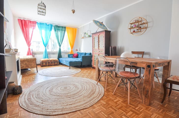 ruhige 2-Zimmer-Wohnung in der Mathildenstrasse