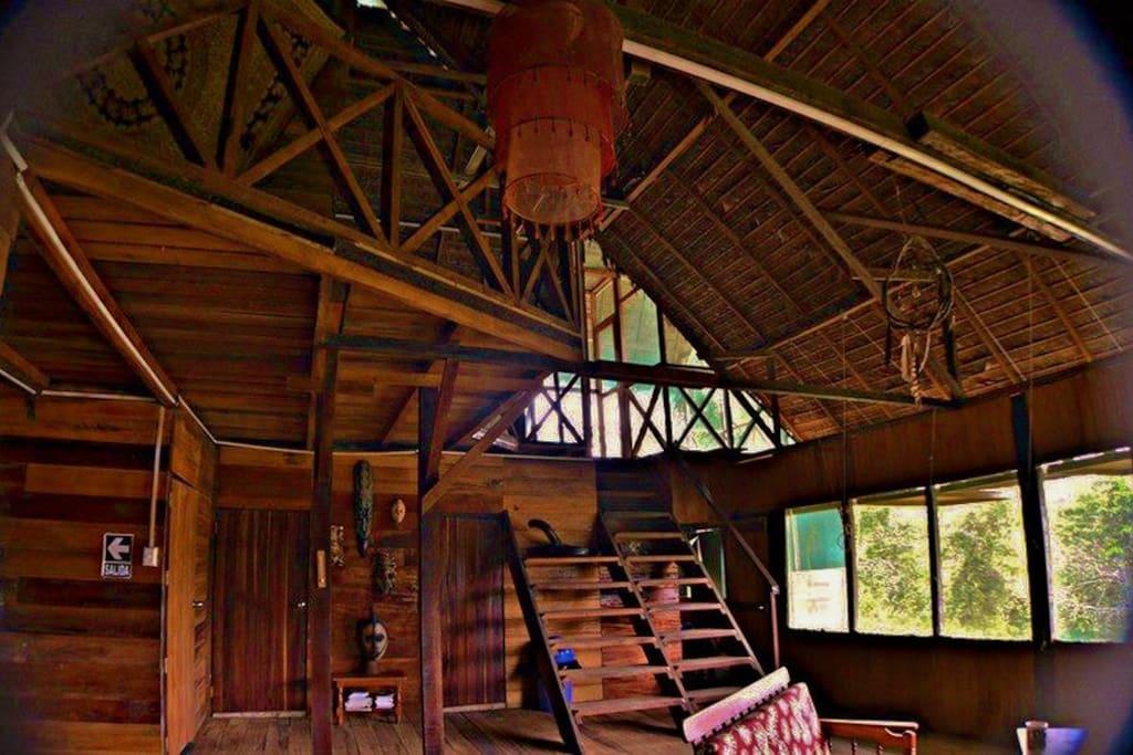 Interior del Eco House