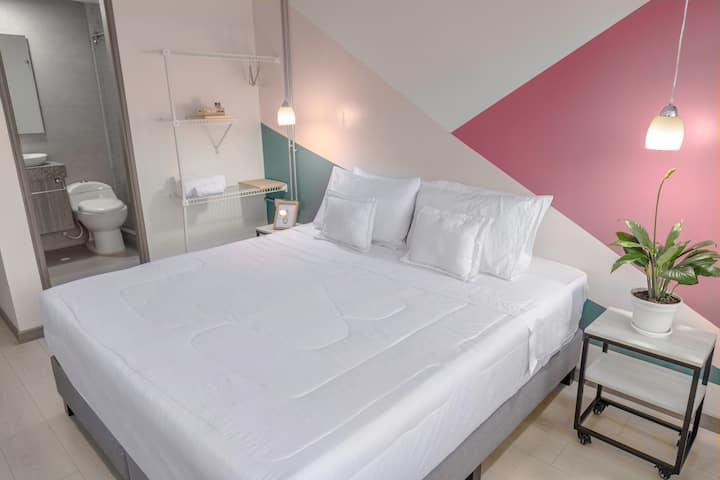 Habitación Doble Privada / Petrona Hotel