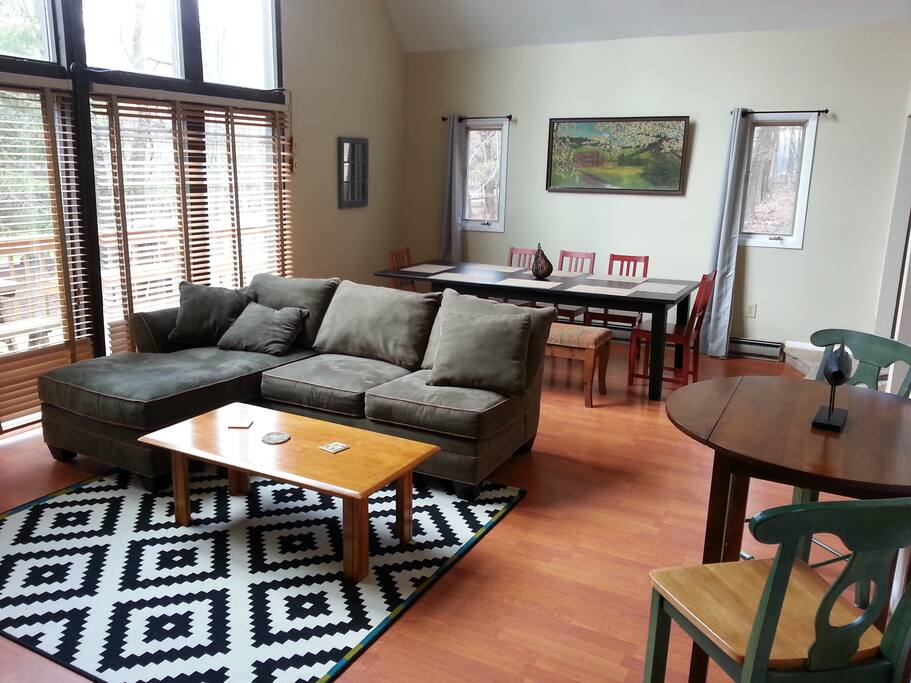 Large, Open Concept Layout/Floor Plan means everyone gets to spend more time together. No cramped living areas.
