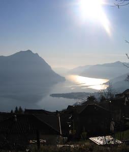 Lago d'Iseo: Grande bilocale  - Flaccanico - House