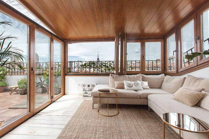 Penthouse with terrace in downtown