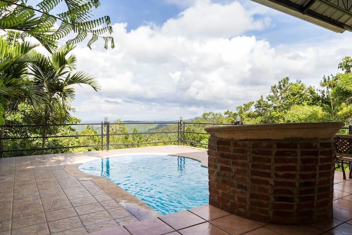 Cabaña vista hermosa - Jarabacoa - Houten huisje