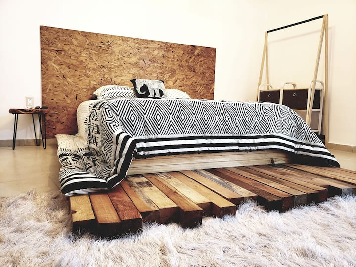 "Sabalo's Hause ""hotel boutique"" (mandala room)"