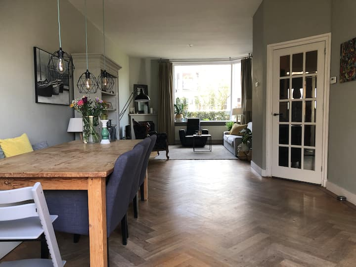 Cosy family home in Haarlem