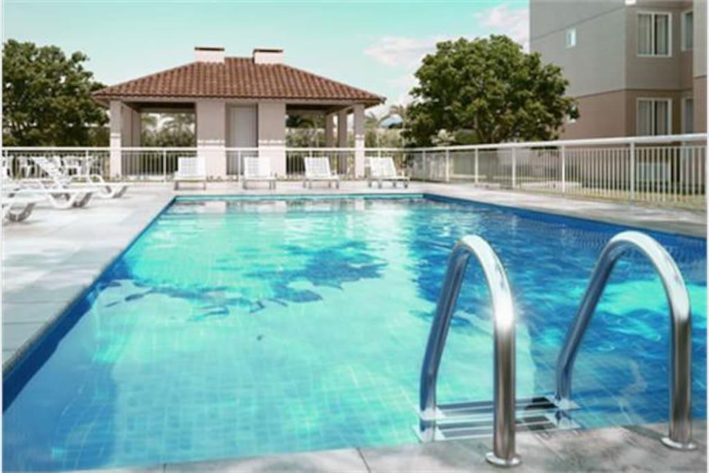 direito a piscina