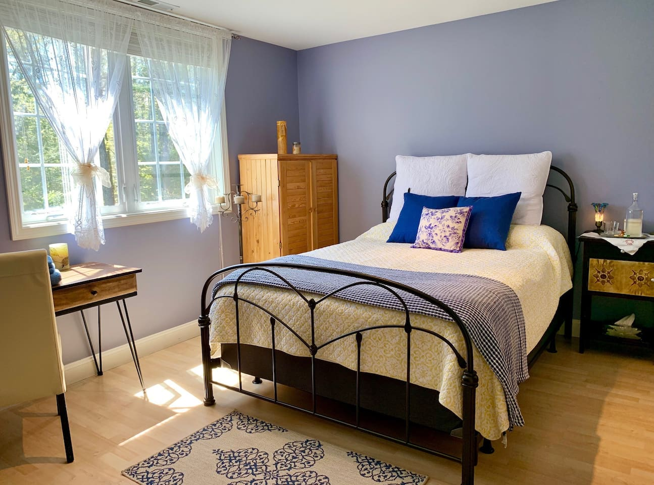 Comfortably large bedroom