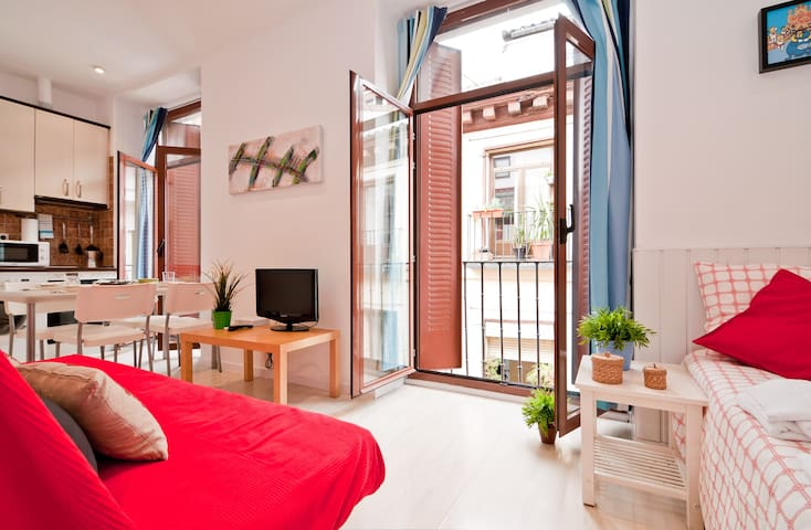 Private Studio in Sol, Madrid  - Madrid - Daire