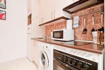 Convenient as your home kitchen.