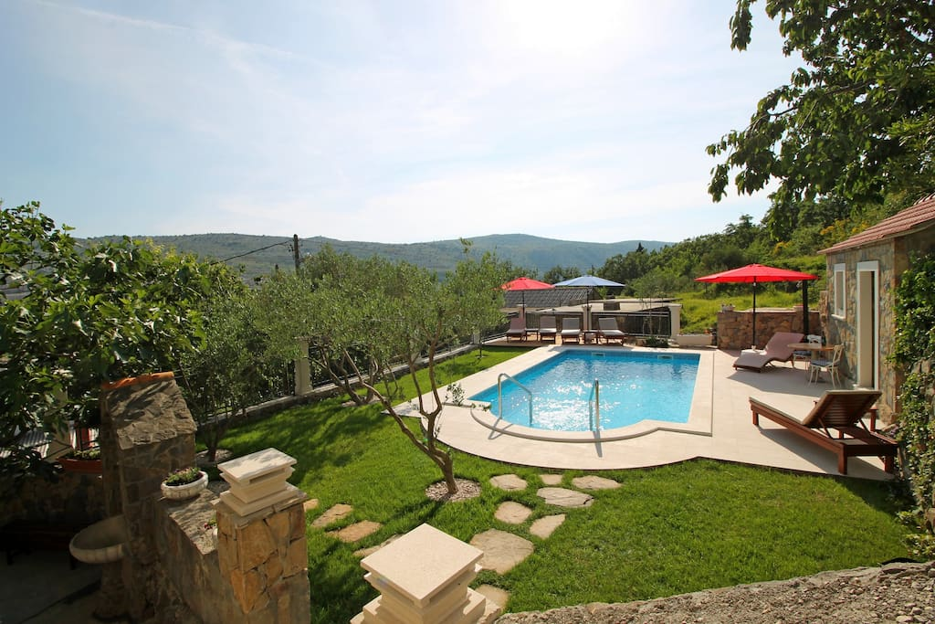 Villa Vultana is last house in the village so your privacy is guaranteed