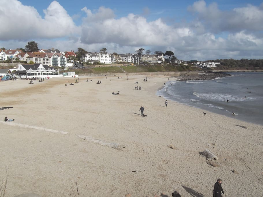 One of the 3 beaches in Falmouth.