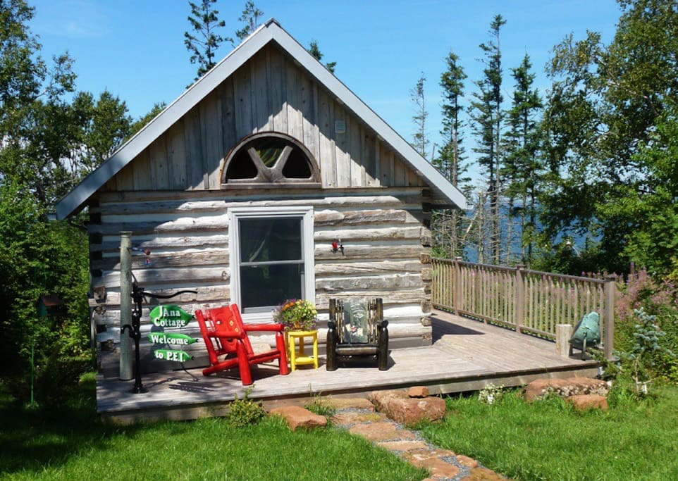 Janab log cabin cabins for rent in belfast prince for Log cabins rentals