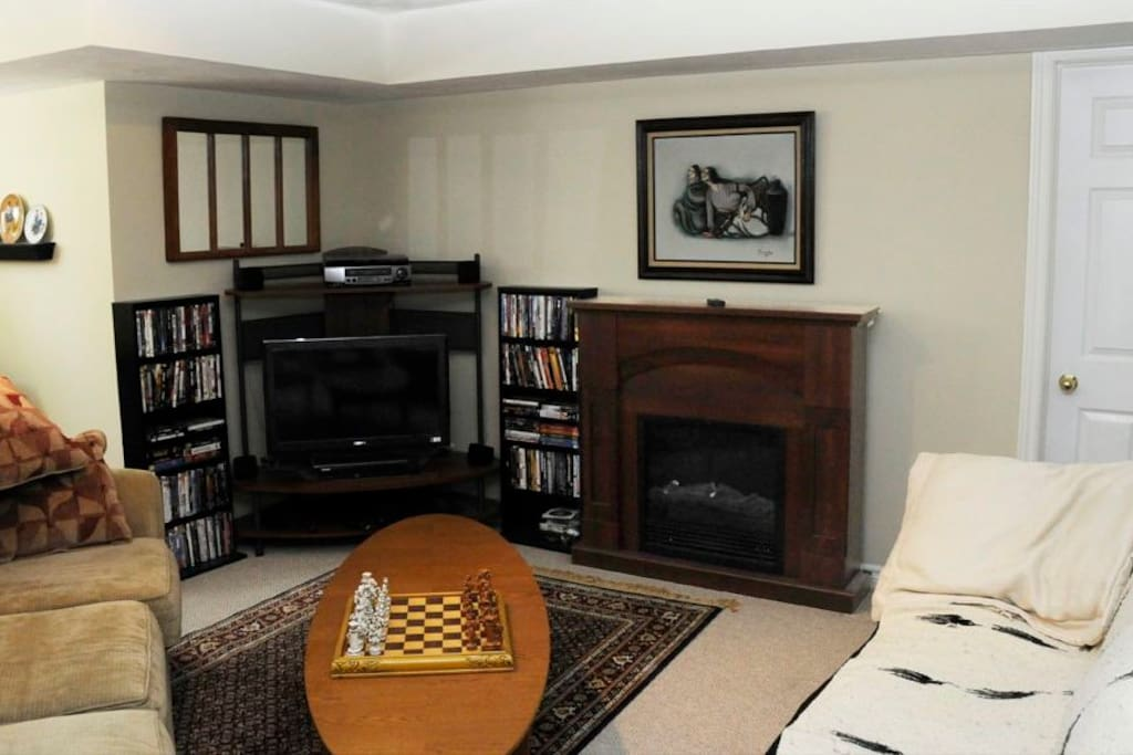 The family room for guest use
