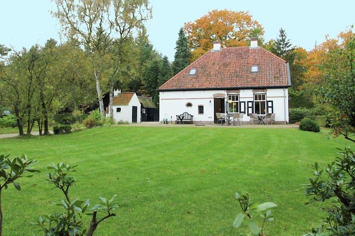 Unique, 8-person holiday home, set in a country estate in Ermelo, Veluwe area