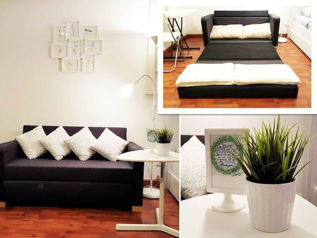 Multi-purpose sofa That can be used to meet the lifestyle of everyone in the room.โซฟาเบทเอนกประสงค์ ที่สามารถใช้พื้นที่ตอบสนองไลฟ์สไตล์ของทุกคนในห้อง